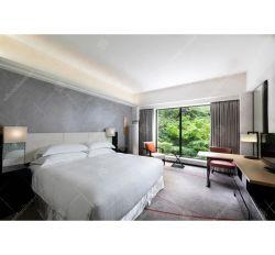 Moda moderno quarto de hotel conjuntos de mobiliário folheado de madeira da pintura