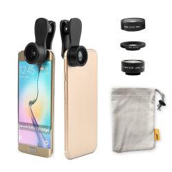 Kit de lente 3 em 1 0,36X super ampla e Kit de lente de câmera de celular de Macro