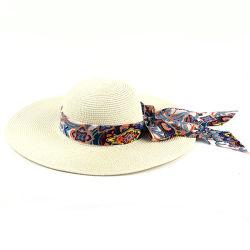 여가 다재다능한 밀짚 모자, 휴일 관광 사업 차양 모자, Bowknot 모자, 리본 밀짚 모자, 숙녀 모자, 리본 바닷가 밀짚 모자