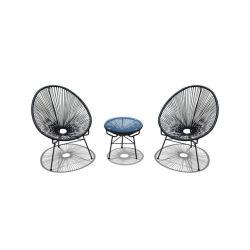 Los conjuntos de muebles de jardín sillas de ratán