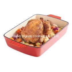 Hot Sale casserole de brioche de poulet à rôtir la Turquie en fonte