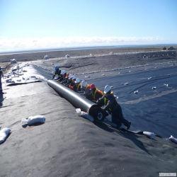 منتجات التعدين الصلبة من Gembre الأسود من LDPE مشروع طمر النفايات