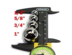 25.0mm装飾的なアクセサリのための0.984インチのクロム鋼の丸いボール