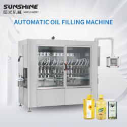 De automatische het Afdekken van het Flessenvullen van de Drank van het Water van de Zuiger Vloeibare Lijn van de Machine van de Etikettering voor de Machine van de Verpakking