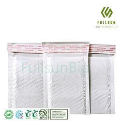 Resíduos biodegradáveis em embalagens de plástico bolha Envelope almofadado Self-Seal selo impresso Personalizado Correio Postal Express Embalagem Mailer Transporte Courier Sacos de endereçamento