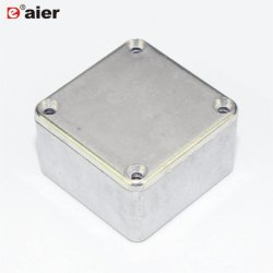 Carcasa de aluminio presofundido personalizado caso pequeña caja de aluminio