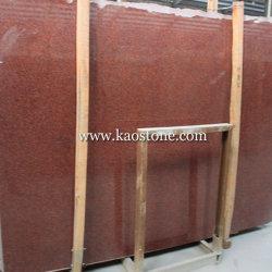 Teñido de Rojo mosaico de granito pulido/escalera vertical/