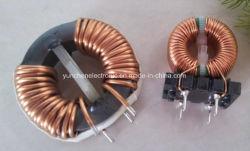 El estrangulador de modo común, que se utiliza para alimentación, EMC, Torodial bobina, UL, CE, VDE, inductor