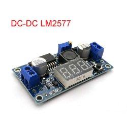 Lm2577 DC-DC Шаг вверх модуль преобразователь цифрового вольтметра напряжение питания дисплея 3A выход 3-34дозатора в 4-35V