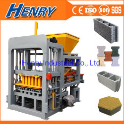 2021 Qt4-18 hydraulische Cement bakmachine, beton Hollow Paver Block Making machine Most Hot Sale Automatic