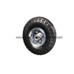 Haut de la qualité de haute qualité gonflable 3.50-4 Roue pneumatique pour chariot