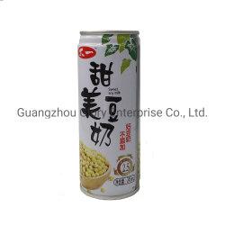 il foglio di latta 250ml può latte di soia naturale con proteine fibra dietetica di 1% e di 2.6% senza additivo