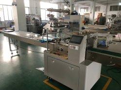 Поток обертки подушки упаковочных машин для печенья и кондитерских изделий