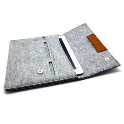 도매 맞춤화 가장 인기 있는 디자인 가죽 수납칸 펠트 노트북 가방 / 케이스/슬리브
