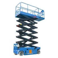 Qiyun CE ISO Питание постоянного тока 10метров антенна работает самоходные ножничные подъемники гидравлические лифты платформы