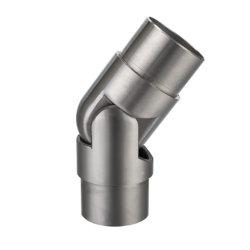 Commerce de gros ajustable Balustrade en acier inoxydable le coude du tuyau de la main courante