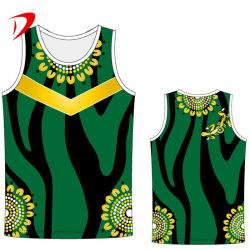 Gli abiti sportivi progettano la maglietta giro collo per il cliente sublimata di sublimazione del Mens delle maglie di Bodybuilding della traversa