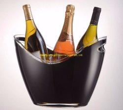 Promotionele plastic Acryl 3,5 l Wijn Champagne flessen ijsbak (FDA/LFGB)