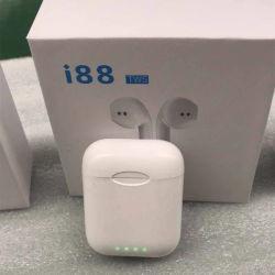 Bunte der Bluetooth Kopfhörer-drahtlose Kopfhörer wählen Tws 1:1 drahtlose Stereokopfhörer Blau-Zahn V5.0 Earbuds Noten-Steuersport-Kopfhörer I88