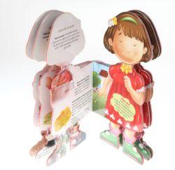 Modelado tridimensional de los niños Libros y Revistas