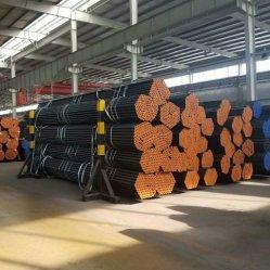 ASTM A106 nahtloses Kohlenstoffstahl-Gefäß für Aufbau-Dampfkessel/die maschinelle Bearbeitung/Wärmetauscher/flüssige Übertragung