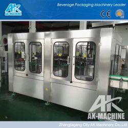 Bouteille en plastique Machine de remplissage d'emballage/ligne d'étanchéité d'exécution automatique de remplissage pour le printemps de l'eau minérale (CGF 14-12-5)