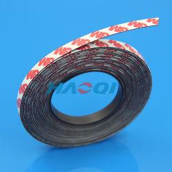 Flexibele Kleurrijke Rubberen Zelfklevende Magneetstrip Magnetische Tape
