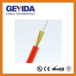 Cavo ottico allentato dell'interno/esterno della fibra del tubo