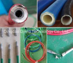 Ultra haute pression à jet de nettoyage des égouts de l'eau jet de pulvérisation de peinture de dynamitage SAE 100 R7 R8 R18 Le flexible hydraulique de thermoplastique