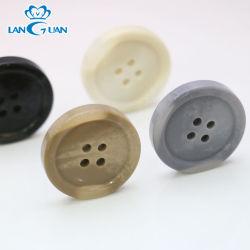Les FANCI polyester classique bouton en plastique pour chemise de résine