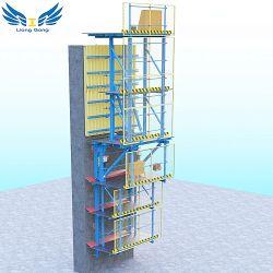 Fabrikant van China paste Hydraulische Opheffende het Beklimmen Bekisting voor High-Rise aan Bouwend Concrete Bouw