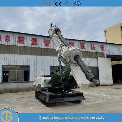 최대 천공 깊이 30m Dr-90 미니 크롤러 유압 파일링 장비 지하수/엔지니어링 구조/더미에 적합한 회전식 천공 장비 보어 장비 기반