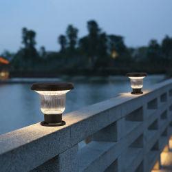 Moderno Classic Design alluminio solare LED da giardino illuminazione Yard Post Lampada per esterni