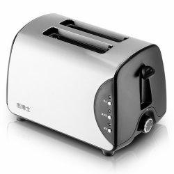 완전히 자동적인 2개의 조각 조반 축배 빵 토스터