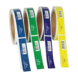 カスタム印刷のブランドのロゴの香水瓶のための付着力のステッカーのラベルを包むロール