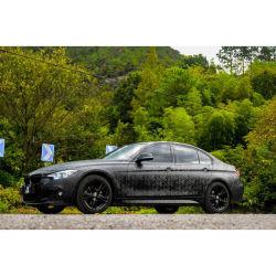 Матовая самоклеящаяся виниловая пленка 3D-Ghost черная пленка устройства обвязки сеткой автомобилей Car упаковку наклейки с воздух прозрачный купол