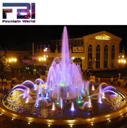 Piscina famosa Rodada 3 Camadas Escultura fontes de água