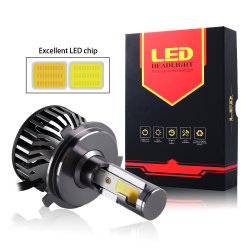 Dubbele van de Kleur van de Hoge Macht Super Heldere Gele F2 MAÏSKOLF 16000lm van de Koplamp 3000K 6500K Autoleiden van het Systeem van de Verlichting H4 H7