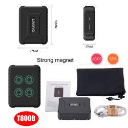 Hoogwaardige, sterke magnetische 2G Auto Car Tracker GPS Met lange werktijden T800B