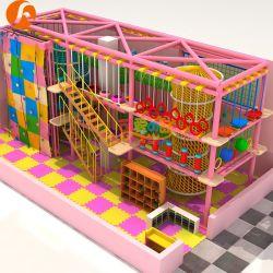 Les enfants de l'équipement de terrain de jeux intérieure Candy-Theme Amusement Parks Monde pour aventures