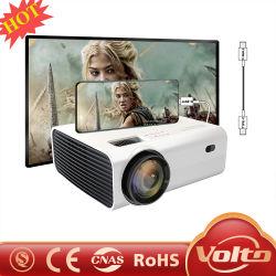 Мини-Portable Full HD LED домашнего кинотеатра кино с малым проекционным расстоянием WiFi Bluetooth для использования вне помещений видео проектор