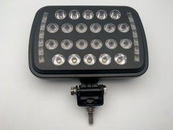 ضوء عمل LED لضوء غامر موضعي مقاس 7 بوصات مع عيون Angel Eyes