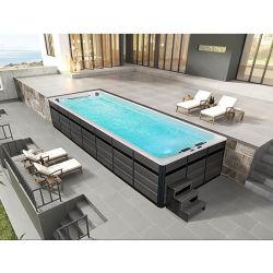Mexda 8 метр бесконечные акриловый глубокий бассейн в отеле есть система подготовки Ws-130aiii