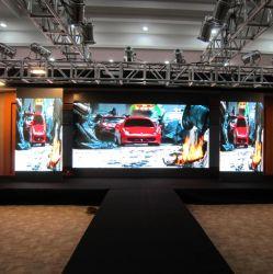 P6 Indoor pleine couleur écran à affichage LED LED de location pour l'étape historique, conférence, des événements