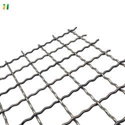 12 Mesh PVC gecrimpter Draht Mesh Sieb Vernetzungen gecrimpter Draht Netz