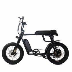 古典的な20インチの脂肪質のタイヤ型2のシートの電気バイクレトロ様式のEバイク