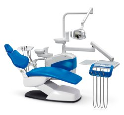 CE 인증서가 있는 새로운 도착 필수 치과의자(ZC-S400 2020형) 다크 블루