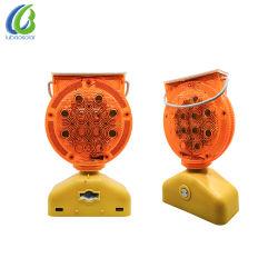 Беспроводной светодиодный индикатор солнечной энергии на дорожное строительство сигнальной лампы системы обеспечения безопасности дорожного движения
