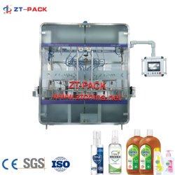 Enchimento de Líquido Automático de Nivelamento da Máquina de rotulação Forantiseptic Engarrafamento /limpador de vidro de embalagem////desinfectante de Embalagem/ Álcool/ Vinagre/ a soja