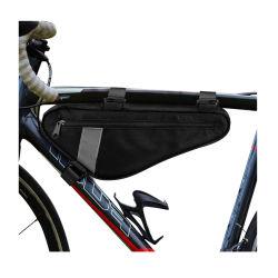 자전거 트라이앵글 프레임 백 자전거를 위한 파우치를 얹은 새들 스트랩 탑 튜브 바이시클 트래블 스포츠 보관 파우치
